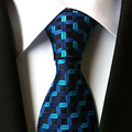 Jacquard de Los Hombres de Negocios Formal Corbata Lazo del Negocio Clásico Raya Hilo de Poliéster Corbata Para Hombres Corbata Del Banquete de Boda Informal