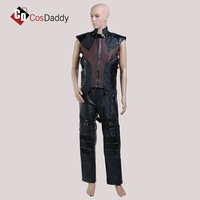 CosDaddy Captain America and Hawkeye CosPlay costume leather pant vest jacket popular movie