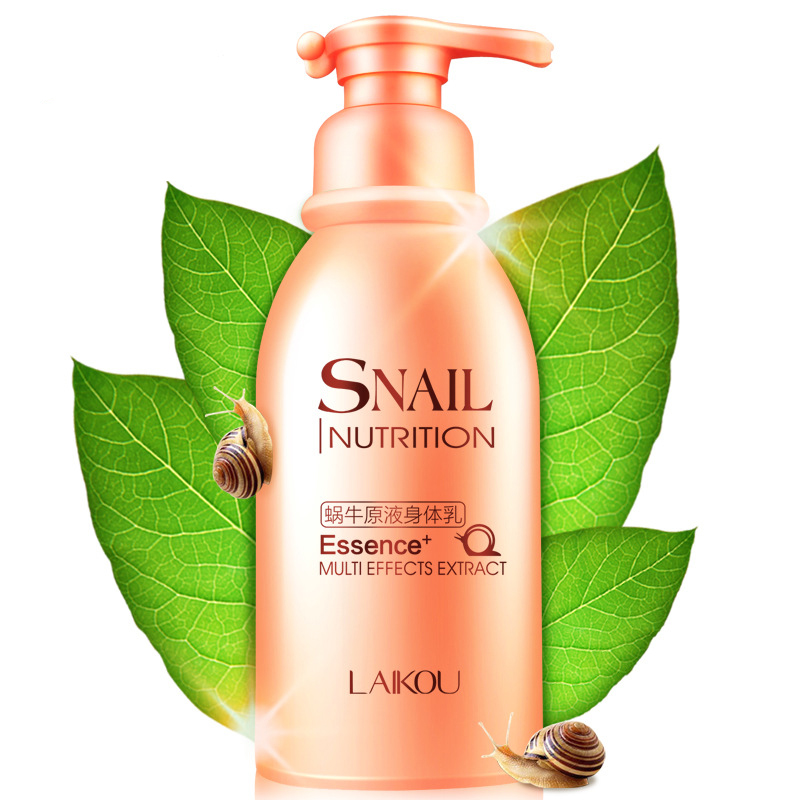 LAIKOU Snail Incense Moisturizing Body Lotion Whitening 250G Can Protect Wet Moist Skin Deep Supplementary Water Body Creams