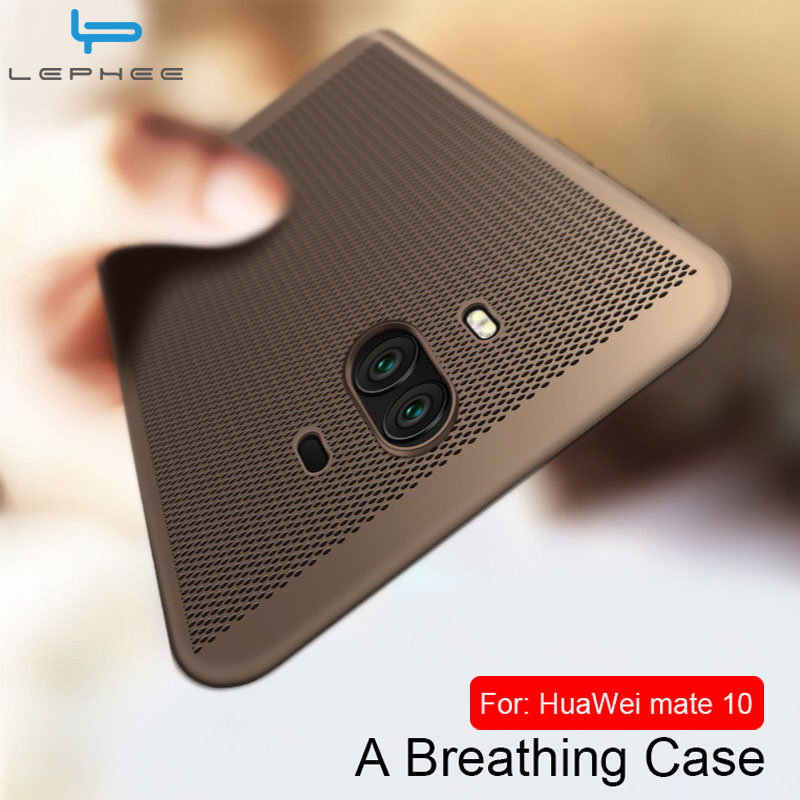 US $1 64 17% OFF|Case for Huawei Mate 10 20 Lite Case for Huawei Mate 10  Pro Phone Cases Matte Back Heat Dissipation Hard PC Full Cover-in Fitted