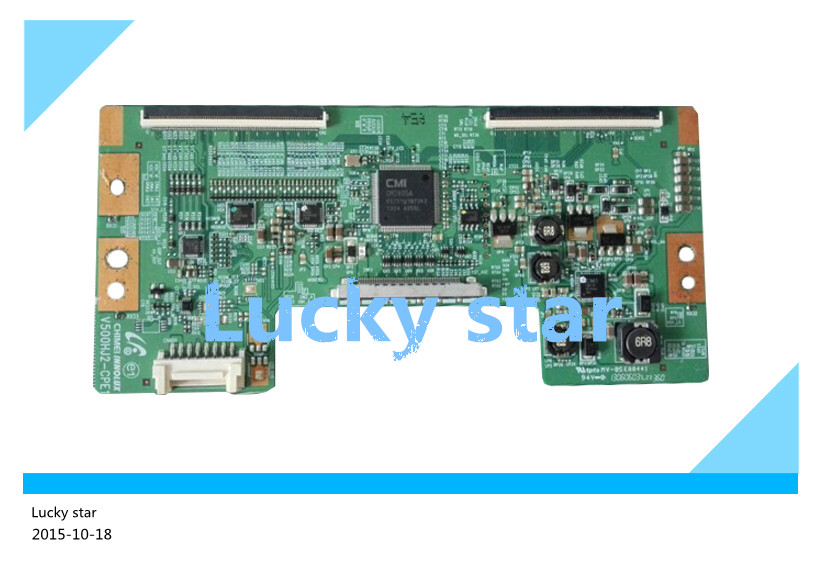 100% tested good working High-quality for original V500HJ2-CPE1 logic board 98% new 2pcs/lot 100% tested good working high quality for original 98% new t370hw04 v4 ctrl bd 37t06 c01 logic board 2pcs lot