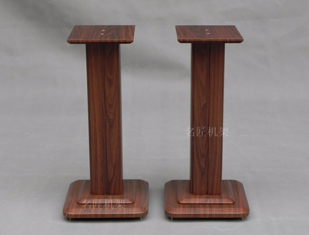 QUEENWAY 4070 MDF MDFB board speaker Stands bookshelf box tripod stand 20/30/40/50/60/70CM ss series speaker stands