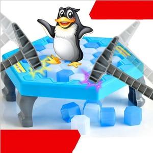 Image 2 - ילדים צעצועי הכה קרח פינגווין קרח בלוק ילדי הורות לוח משחק לחסוך פינגווין הורה לילד אינטראקטיבי צעצועים חינוכיים