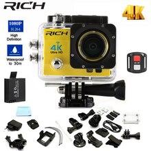RICH Action Camera Q3H/Q3HR wifi Ultra HD Mini Cam 4K/30FPS 1080p/30fps 720P/60FPS underwater Waterproof Video Sports Cameras