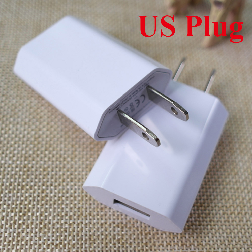 Wholesale 100pcs Lot EU USA CA Plug Travel Wall Charger For Apple iPhone 6 6s 5 5S SE 5C 4 4S 3GS iPod High Quality Charger in Mobile Phone Chargers from Cellphones Telecommunications