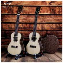 23 Inch Ukulele Small Guitar Rosewood Electric Guitar Ukulele 18 Fret Classical Flattop Musical Instrument Excellent Quality-W01