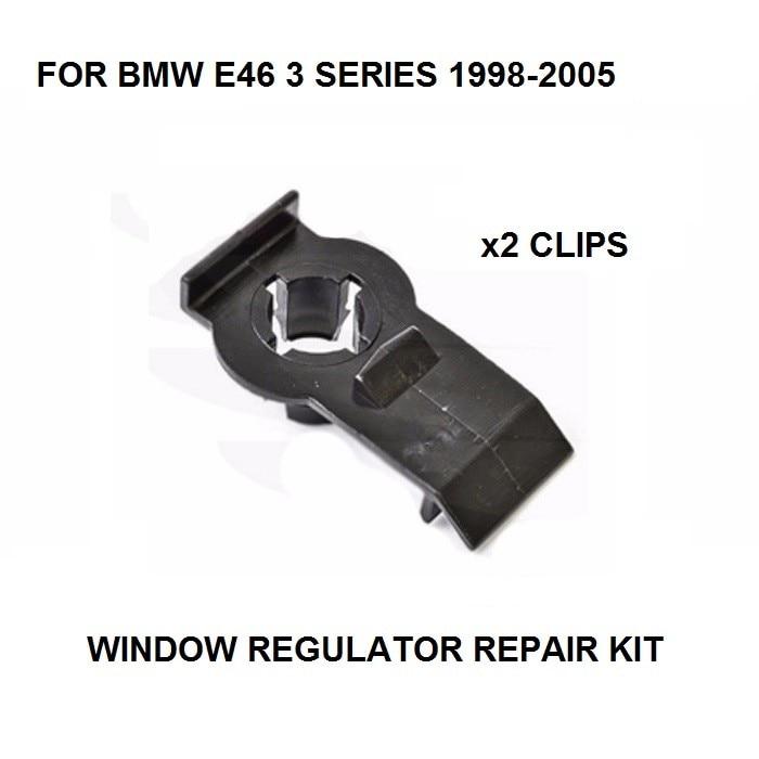 FOR BMW E46 3 SERIES WINDOW REGULATOR REPAIR CLIP REAR LEFT 98-05