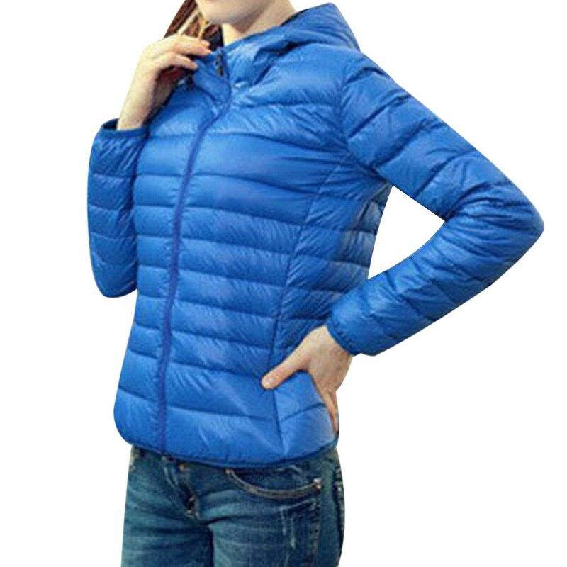 LASPERAL 2019 Autumn Winter Women   Basic     Jacket   Coat Female Slim Hooded Brand Cotton Coats Casual Black   Jackets     Basic   Light Warm
