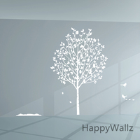 Large Tree Wall Stickers Tree Wall Decals DIY Decorating Family Tree Wall Sticker Removable Wall Decoration T23