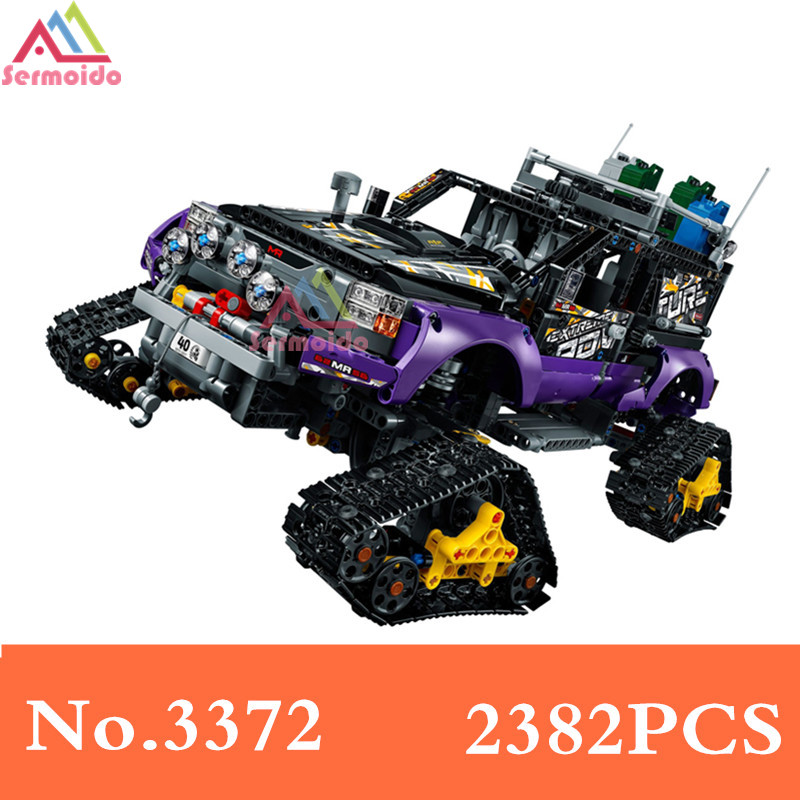 Decool 3372 Genuine Technic Mechanical Ultimate Extreme Adventure Car Set Building Blocks Bricks Compatible With 42069 B163 lacywear s46016 3372