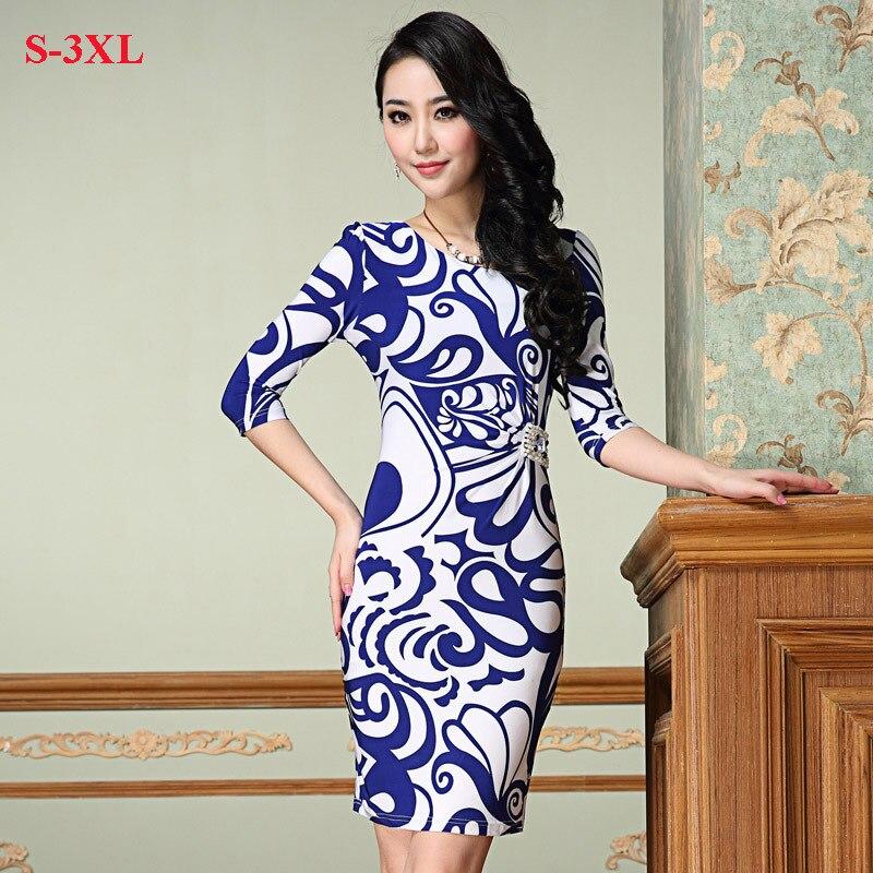 Women Summer Dress 2014 Brand New Rhinestone Sexy Bodycon Dress Plus