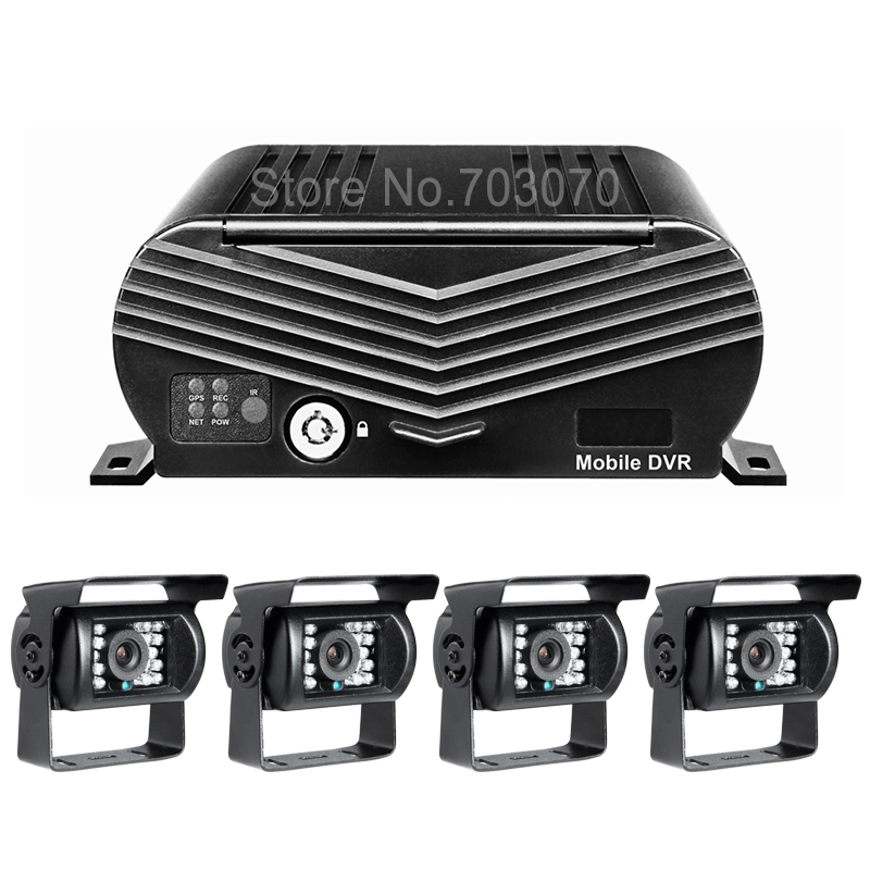 Automjeti 4CH Hard Disk Automjet DVr Online 3G Regjistrues video HDD - Siguria dhe mbrojtja - Foto 2