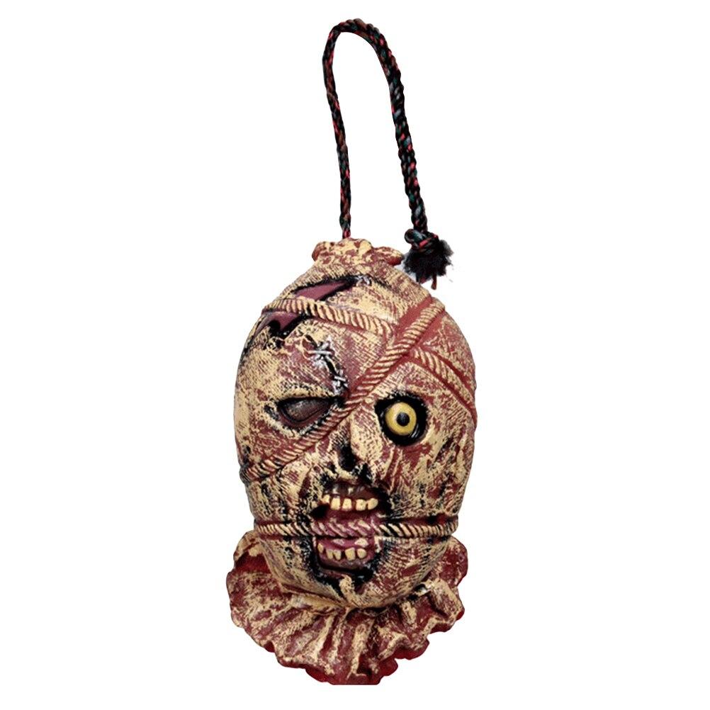 Halloween Zombie Head Decoration Funny Scary Realstic