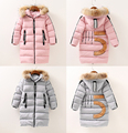 Good Quality Children Winter Outerwear Kids Coat Jacket Hooded 5-9 Years Girls Parka Long Style Warm Thickening Kid Outdoor Coat
