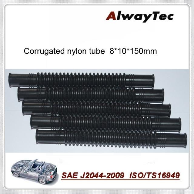 8mm*10mm*150mm  10pcs per lot  fuel corrugated tube for fuel line