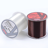 High Quality Fishing Line 500 Meters Wear Resistant Nylon Strong Pulling High Strength Durable Fishing Lures