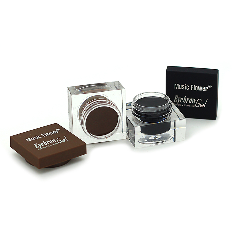 Music Flower Eyebrow Makeup Kit Eye Brow Gel Eyeliner Gel