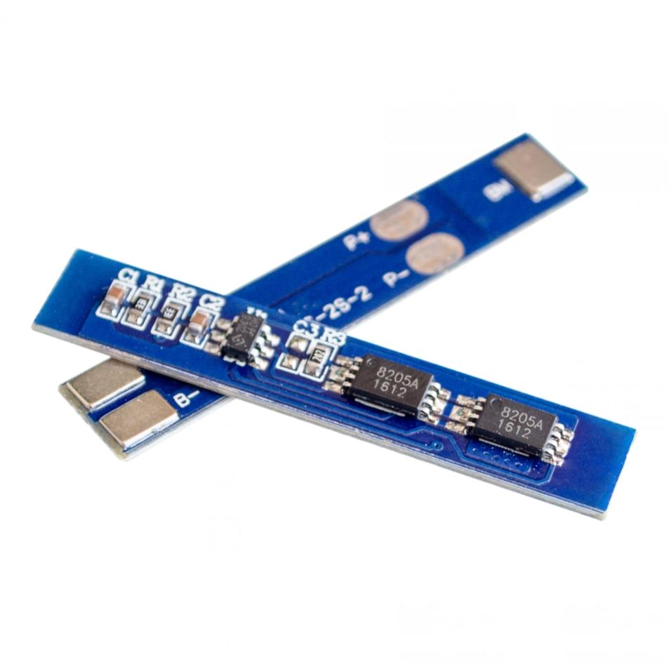 5 pçs/lote 2S 3A Li-ion 7.4v Bateria de Lítio 8.4V 18650 Placa de Proteção Carregador bms pcm para a li-ion célula de bateria lipo pack