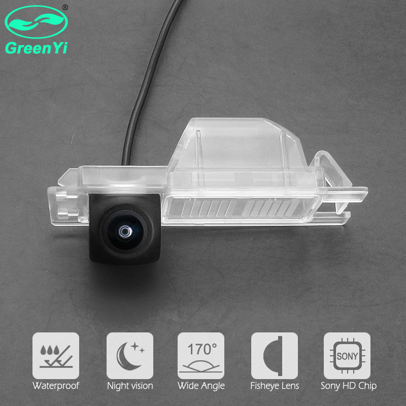 Vauxhall Antara 2008~2017 HD Rear Reversing Backup Camera Rearview License Plate Replacement Camera Night Vision Waterproof for Holden Captiva 5