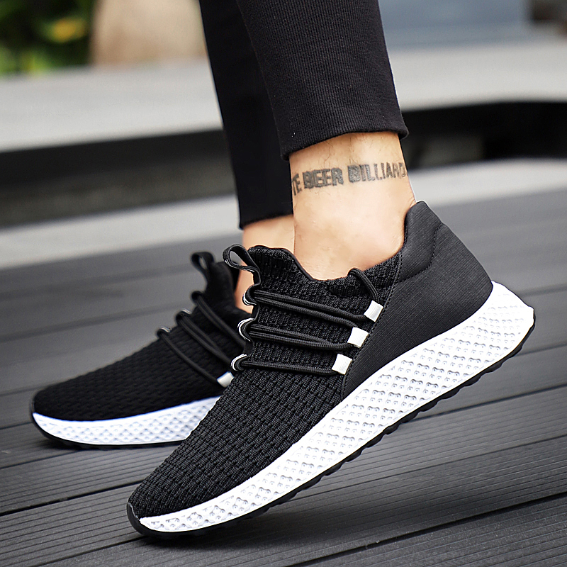 HTB18l3fgrrpK1RjSZTEq6AWAVXal Male Breathable Comfortable Casual Shoes Fashion Men Canvas Shoes Lace up Wear-resistant Men Sneakers zapatillas deportiva