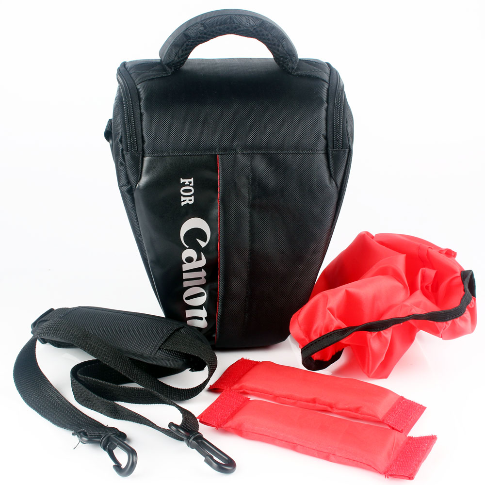 Waterproof Camera Bag Case For Canon EOS 200D 1300D 1200D 1500D 760D 750D 700D 600D 650D 550D 5D 7D 60D 70D 100D SX60 T6i T5 T5i camera 2 5x lcd screen viewfinder magnifier loupe for canon 500d 550d 600d 650d 700d 750d 6d 60d 7d 70d 5d 5dii 5d3 100d 1200d