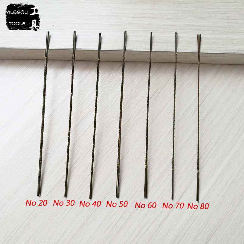 Image 5 - Free Shipping 12 Pieces Jeweller's Saw Blades 130mm Scroll Saw Blades 14 Kinds Jewelers Saw Blades Cutting Variety Metal Jade-in Saw Blades from Tools