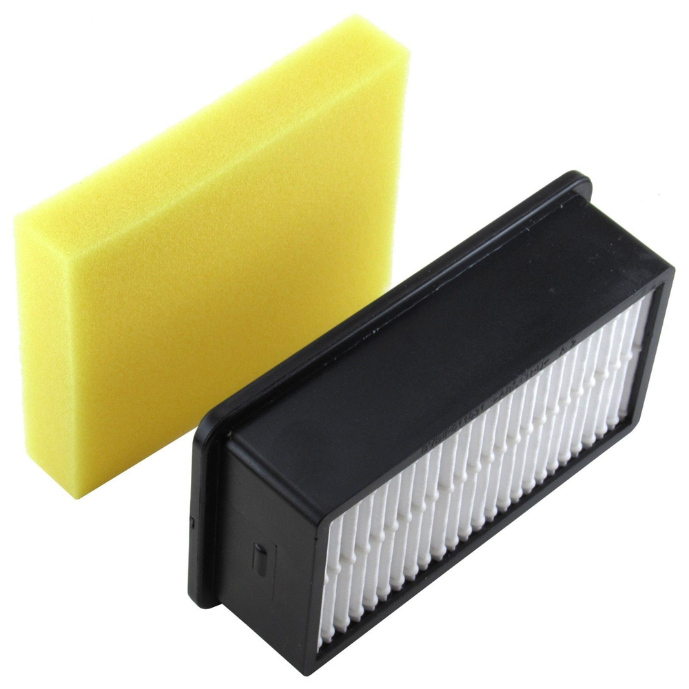 1*Foam filter+1*Hepa filter Vacuum Cleaner Parts Replacement for Bissell Style 1008 Vacuum Cleaner Dust Filters Accessories 2pcs robotic vacuum cleaner robotic parts pack hepa filter for xiaomi mi robot filters cleaner accessories