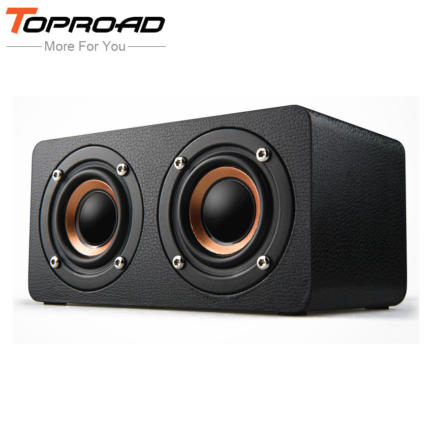 Compact Wooden Wireless Speaker Sound Box Subwoofer Wy Factory Direct Selling Price Consumer Electronics Portable Audio & Headphones