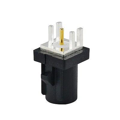 2 pcs Fakra Male PCB mount Plug End Launch Straight Car connector Black/9005 Radio A
