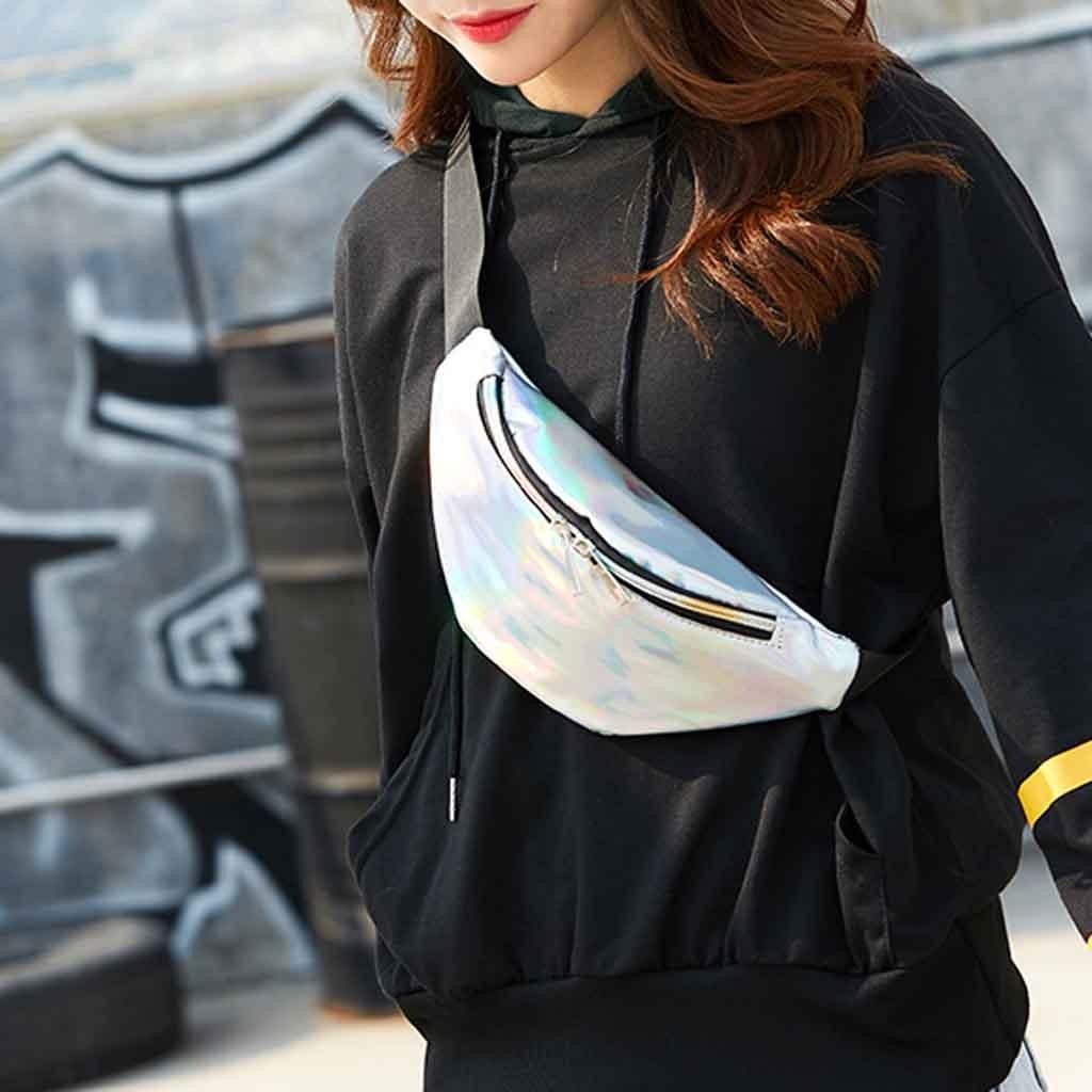 Damentaschen Gepäck & Taschen Ausdrucksvoll Mode Rosa Fanny Pack Neutral Outdoor Sport Laser Strand Tasche Crossbody-tasche Für Frauen Brust Tasche # Ca30 Monederos Para Mujer Knitterfestigkeit