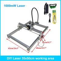 1000mw Mini Laser Engraving Machine 35 50cm Carving Machine Laser Wood Plastic Bottle Cutter