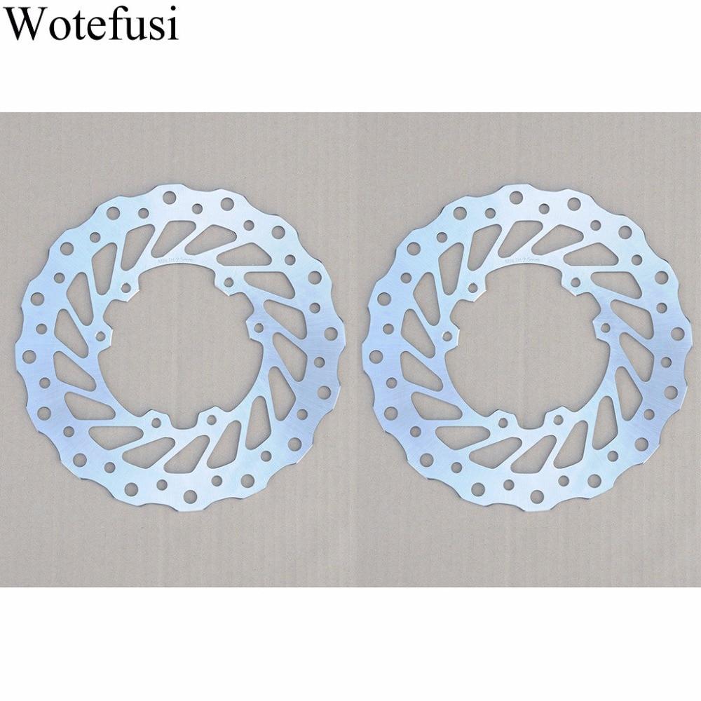 Пара Wotefusi передний тормоз Ротор диск для CR 125/500 ЦР 250 КРР Ф 250 р/F500 х ХПН 450 [MT106]