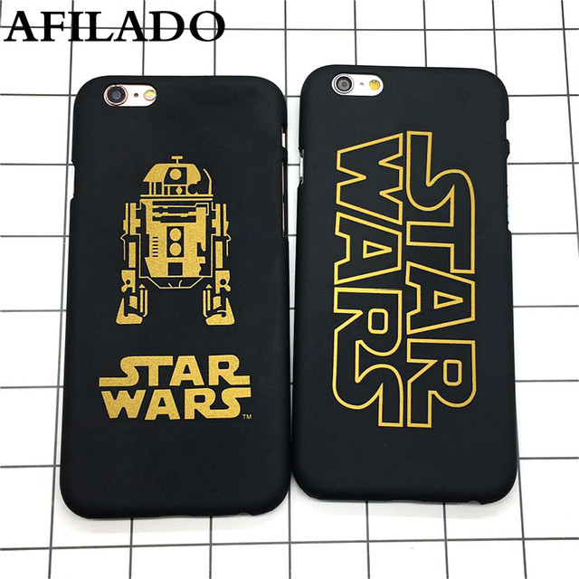 Fashion Star Wars Slim Hard Matte Plastic Back Cover for iPhone 6 6s 5 5s se Phone Case Luxury Movie Film Ultra Thin Shell Capa