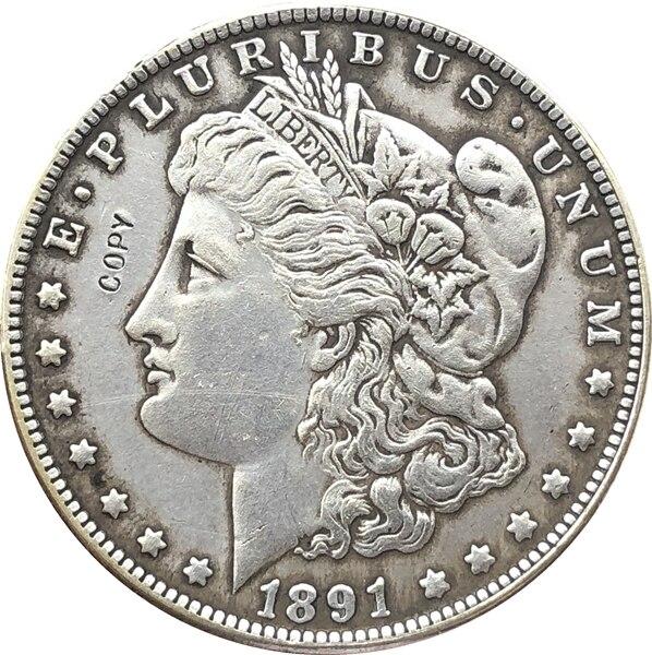 1891-O USA Morgan Dollar Coins COPY