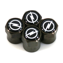 Carbon black car Tire Valve Caps case for OPEL OPC Corsa Insignia Astra Antara Meriva Zafira