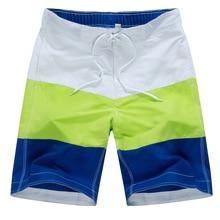 Мужские пляжные шорты для плавания Лоскутные мужские шорты для плаванья для мужчин пляжные шорты для серфинга купальник для спа пляжные брюки одежда для плавания