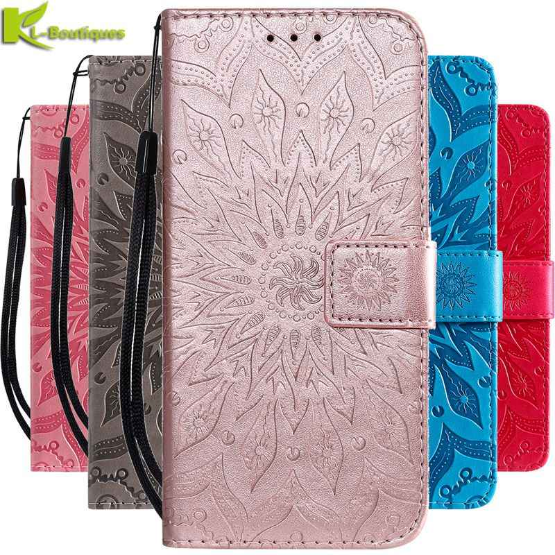 Huawei Коврики 20 Lite случае Коврики 20 Lite крышка на чехлы для huawei Коврики 20 Коврики 10 Lite Подсолнух случае чехол-портмоне для телефона на магните