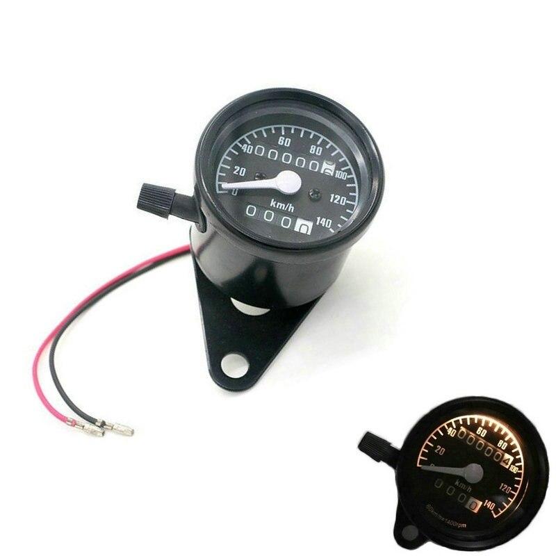 Motorcycle Speedometer Odometer Dual LED Backlight Night Readable Speedometer Gauge Panel Motorcycle Odometer Instrument