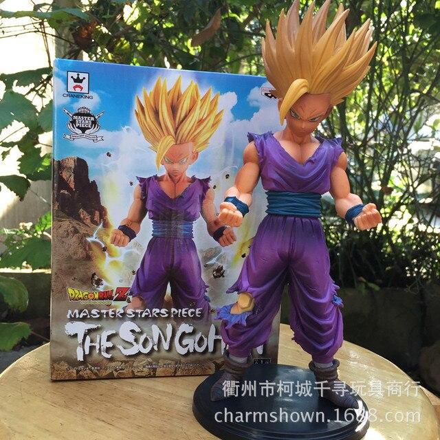 24 cm Dragon Ball Z The Son Gohan PVC Action Figure brinquedos Coleção figuras brinquedos para presente de natal com Varejo caixa