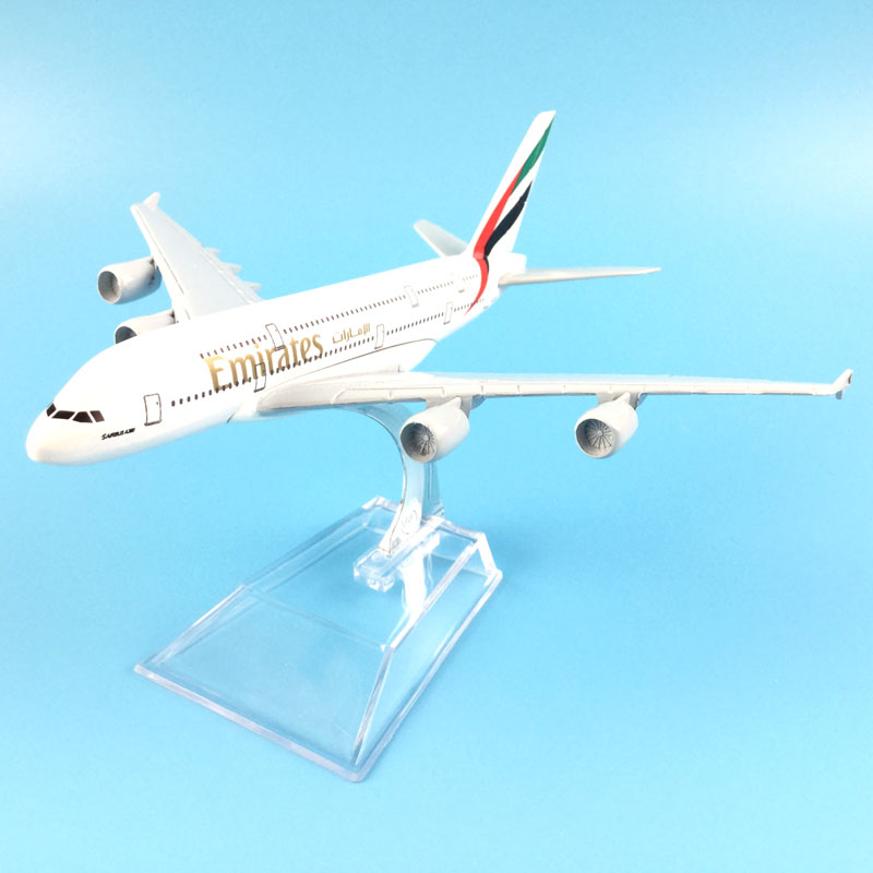The United Arab Emirates Airline A380, 16cm, Metal Airplane Models Child Birthday Gift M ...