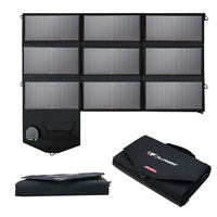 60W Solar Phone Charger Solar Quick Charging for iPhone 6 7 8 iPhone 10 iPhone X iPad Samsung Dell HP Acer 12V Car Battery
