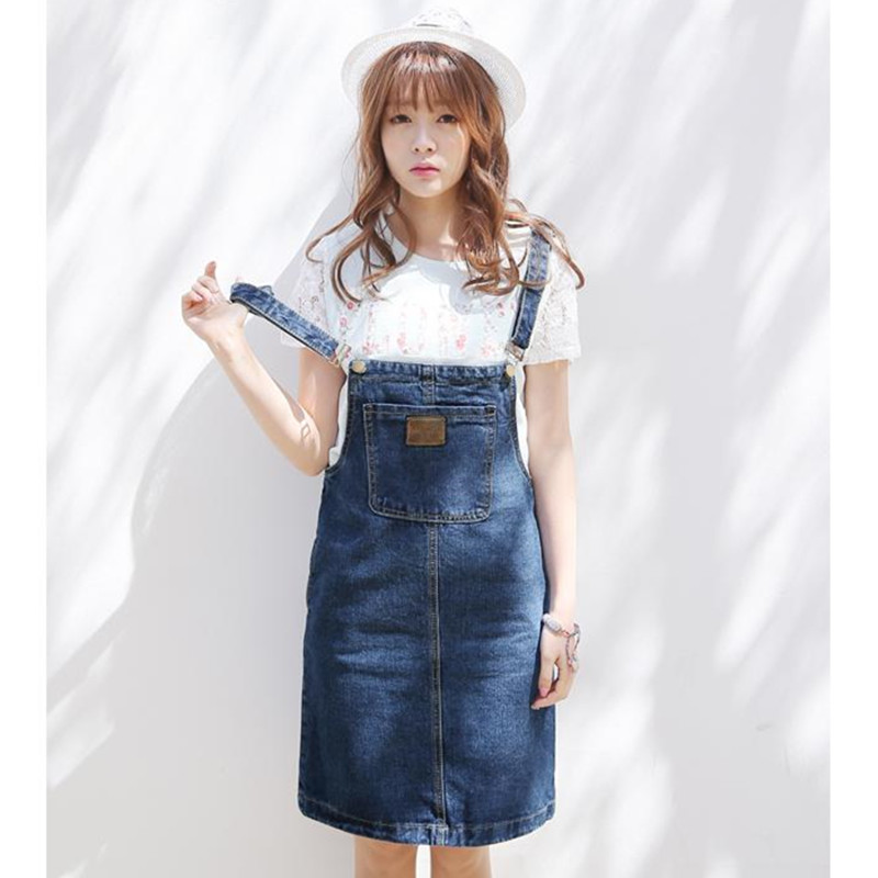 Off the Shoulders Denim Dress - Large Ruffle