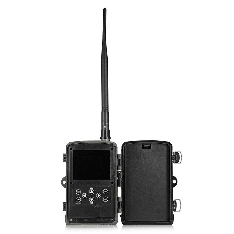 HC-801G 3G/4G Vision nocturne caméra de faune 16 mégapixels étanche caméra de chasse caméra piège Photo caméra de chasse