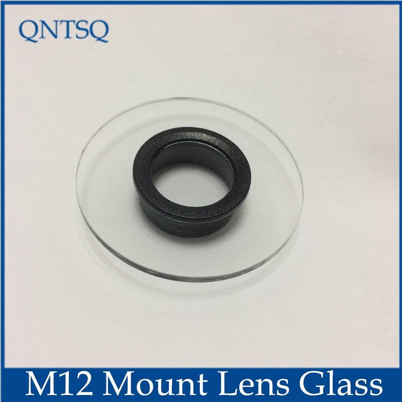 CCTV Camera housing Glass M12 lens mount, Inner ring empty size: Dia16mm-18mm