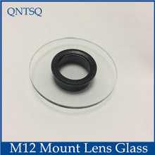 CCTV Camera housing Glass M12 lens mount, Inner ring empty size: Dia16mm 18mm