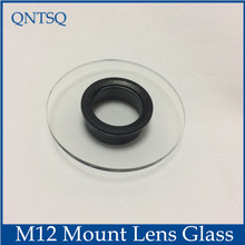 CCTV Camera housing Glass M12 lens mount, Inner ring empty size: Dia16mm-18mm(China)