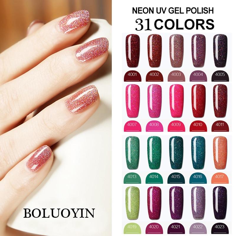 Gel Primer Nail Art 8ML Neon Color UVLED Gel Nail Polish For Nail Extension Design Long lasting Soak Off Varnish Gel Polish