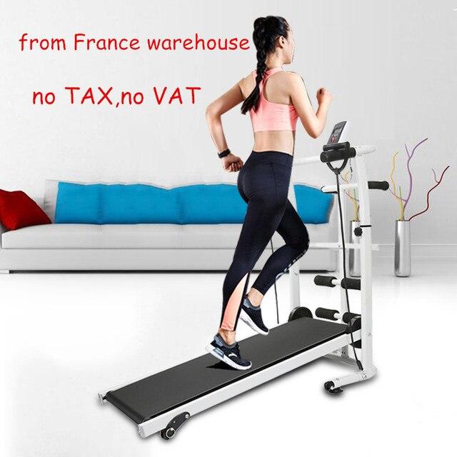 2018 Hot Sale New mechanical Treadmill Mini Folding Running Training Treadmill Home Fitness Equipment For training apparatus HWC