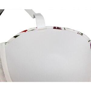 Image 3 - Женский сексуальный бюстгальтер большого размера с чашкой 1/2, сексуальный кружевной бюстгальтер без бретелек, модный бюстгальтер