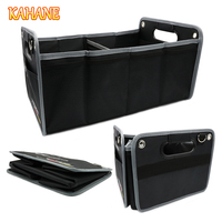 KAHANE Car Styling R Logo Trunk Box Bag Foldable Vehicle Storage Sline For VW Touran Golf 7 Polo Caddy Passat B5 B6 Golf 4 VW T5